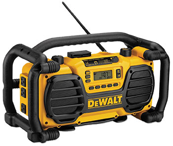 DEWALT Ultra Rugged 7.2V-18V Jobsite Radio