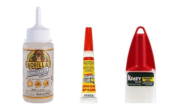Gorilla Glue vs Super Glue vs Krazy Glue